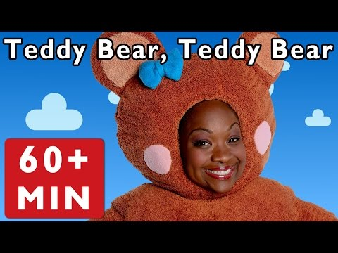 Teddy Bear, Teddy Bear and More | Nursery Rhymes from Mother Goose Club!