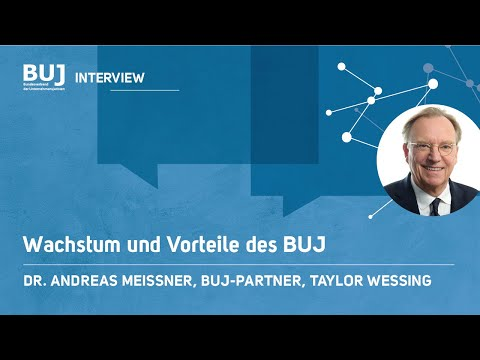 BUJ - Interview mit Dr. Andreas Meissner, TaylorWessing