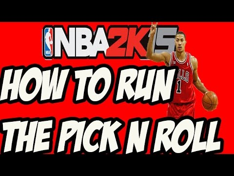 how to call a pick and roll in nba 2k15