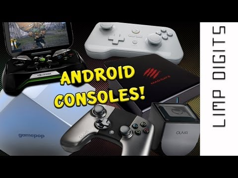 Android Consoles: OUYA, GameStick, Nvidia SHIELD, GamePop, Mad Catz M.O.J.O