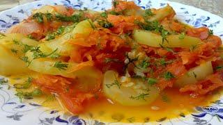 Овощное Рагу Из Кабачков !!!