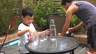 Cool Kids Magic Trick with Water