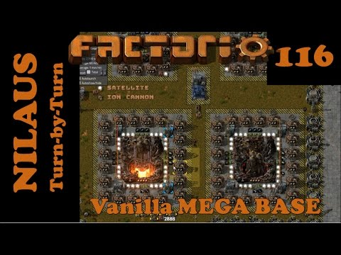 Factorio S7E116 - Base tuning while maintaining 1 rocket per minute