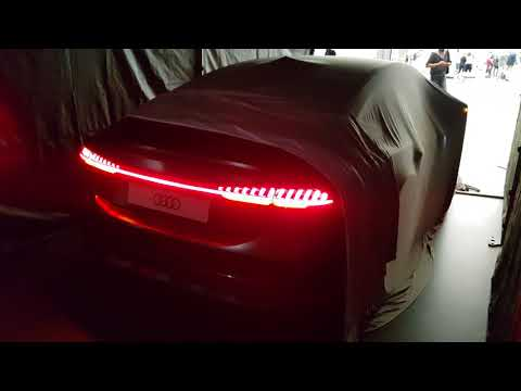 New Audi A7 rearlights looks CRAZY like Bugatti CHIRON