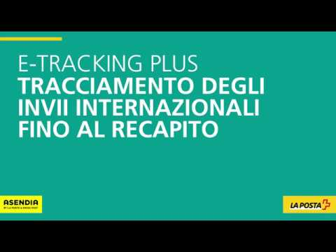 e tracking plus monitoraggio di merci di piccole dimensioni non raccomandate all estero youtube. Black Bedroom Furniture Sets. Home Design Ideas