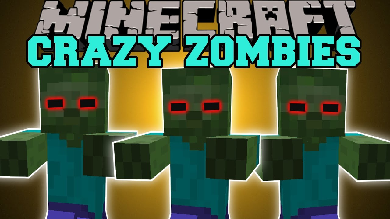 crazy craft mod for minecraft minecraft zombies and skeletons you can not hide 6409