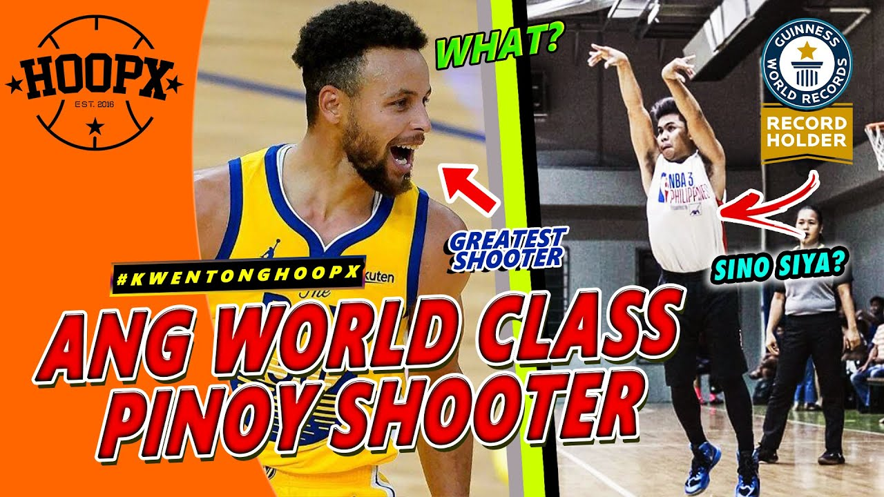 ANG PINOY BASKETBALL PLAYER NA NAKABASAG NG GUINESS WORLD RECORD SA 3-POINTERS