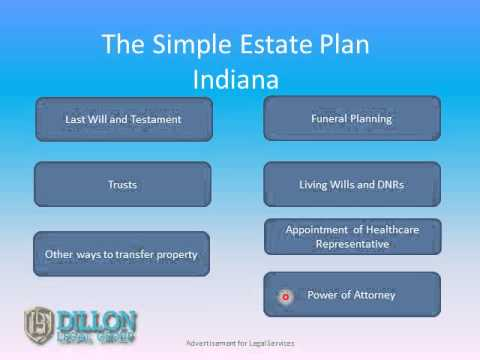 Indiana attorney, Ryan Dillon of Dillon Legal Group covers estate planning in this short video. The topics covered include, Last Will and Testament, Trusts, Other ways to transfer property, Funeral...