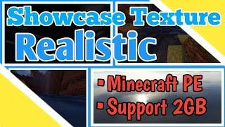 Download Showcase Texture Realistic di Minecraft PE