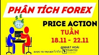 Phân Tích Vàng & Forex Theo Price Action Tuần 18/11-22/11
