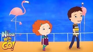 Zoo | Nina Needs to Go! | Disney Junior
