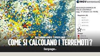 Terremoti, come si calcola la magnitudo? Lo spiega un esperto dell'Ingv