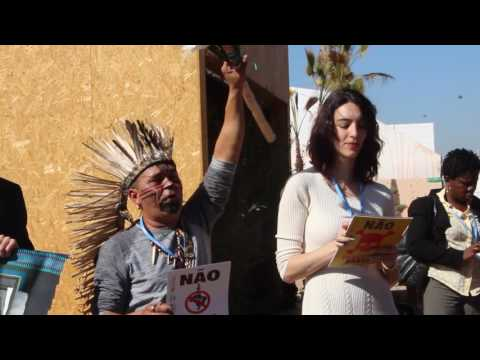 #ZeroFossil and no fracking say Brazil indigenous at COP22