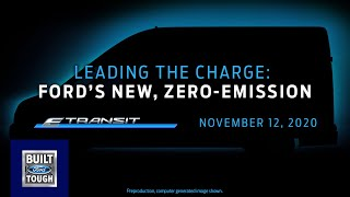 homepage tile video photo for The New 2022 Ford E-Transit World Debut | Ford