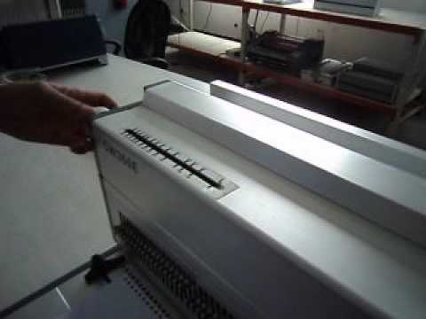 LEgal size electric wire binding machine