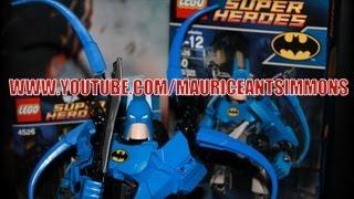 Lego Batman Review--super Heroes *ultrabuild Batman #4526 Video 1* (team Dopeness)