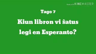 7a Tago – Kiun libron vi ŝatus legi en Esperanto?