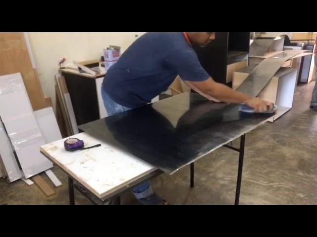 Cara Pembuatan Kabinet Dapur Di Kilang Dapur Idaman Kuantan Youtube