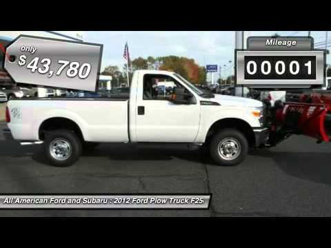 2012 ford plow truck f250 4x4 old bridge nj 122234 youtube. Black Bedroom Furniture Sets. Home Design Ideas