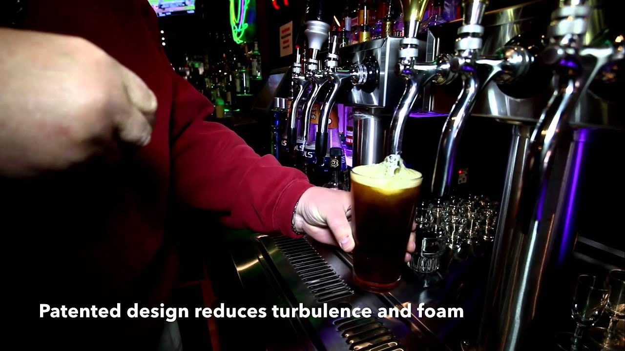 The QuickDraw Beer Tap Faucet - YouTube