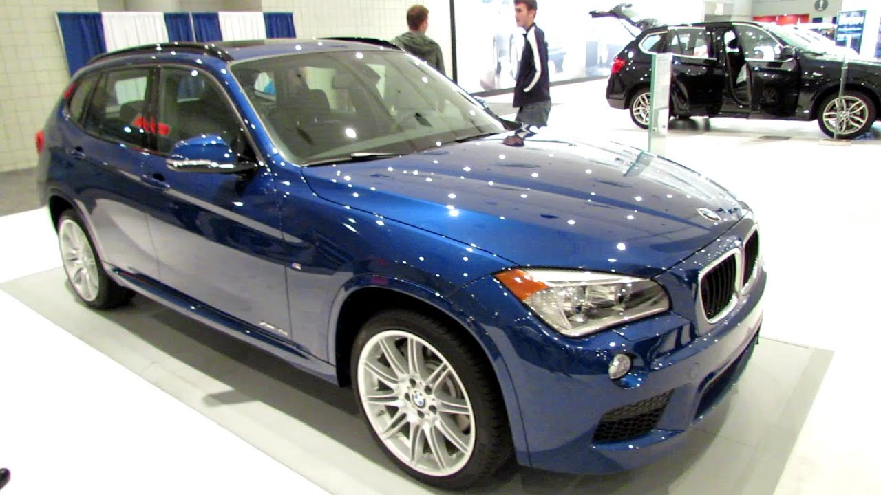 2014 bmw x1 xdrive 35i m sport line exterior and interior walkaround 2014 new york auto show. Black Bedroom Furniture Sets. Home Design Ideas