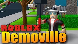 I have a giant hammer and I'm not afraid to use it! (͡ ° ͜ʖ ͡ °) | ROBLOX: Demoville