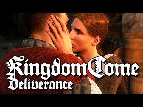 Kingdom Come Deliverance Gameplay German #12 - Mein erster Kuss
