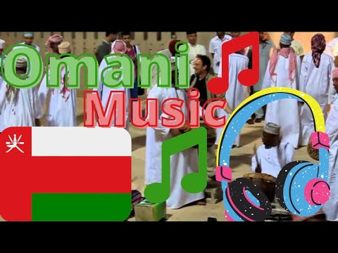 Omani Men Playing Traditional Music at Muscat Festival 2011!