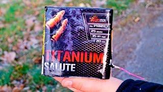 TITANIUM SALUTE - Polenbatterie (20mm, 25 Schuss) - von Piromax