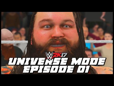 WWE 2K17 | Universe Mode - 'SLAMMY AWARDS!' | #01