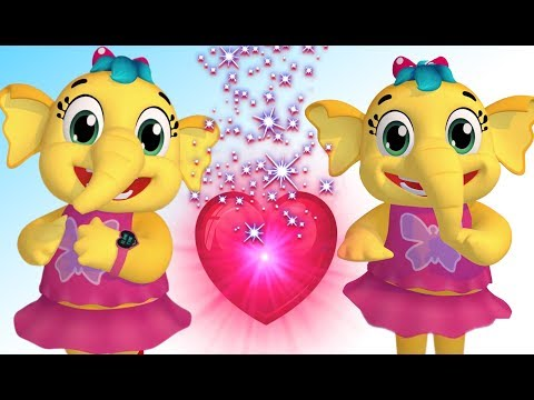 Emmie - Valentines Day Love In World |Nursery Rhymes Collection & Kids Songs |Animal Song |Babytoonz