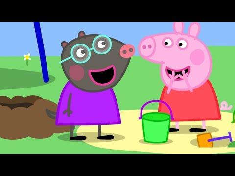 Peppa Pig English Episodes 🎄New Friend! Molly Mole 🎄 Peppa Pig Christmas | Peppa Pig Official