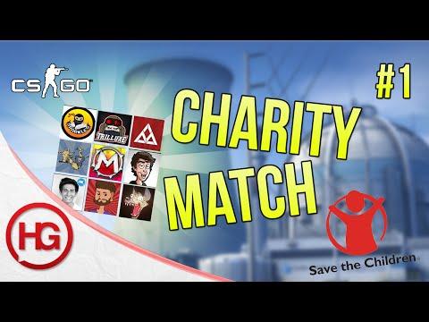 CS:GO YouTuber Charity Match - Map #1 - Nuke