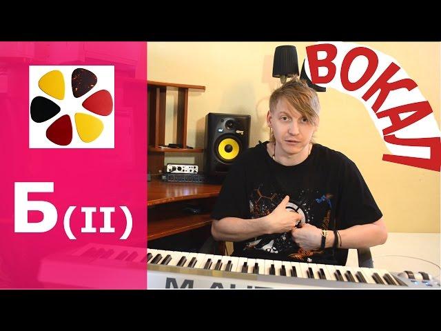 Урок вокала (БII) Упражнения для того что бы попадать в ноты, правильно дыхание, как поставить голос