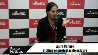 🎙#PuntoNoticias | Laura Carrión - Denuncia ante la CIDH