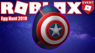 So erhalten Sie das Captain America Egg - HUB - Roblox Egg Hunt 2019 GUIDE