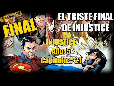 El triste final de Injustice / Batman vs Superman ¿Quien Gano? / INJUSTICE Año 5 - Capitulo 21