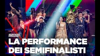 I Semifinalisti cantano Caparezza -  TVOI 2019