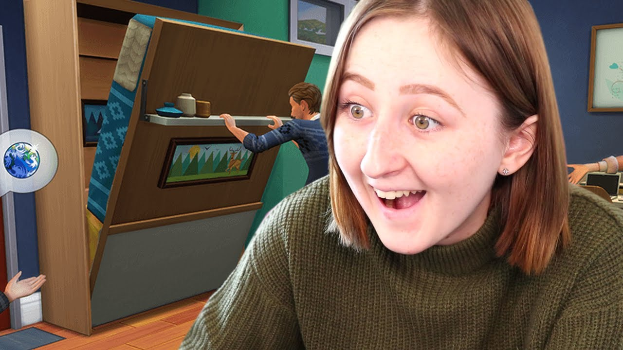 NEW TINY LIVING STUFF PACK FOR THE SIMS 4 (Trailer Reaction) thumbnail
