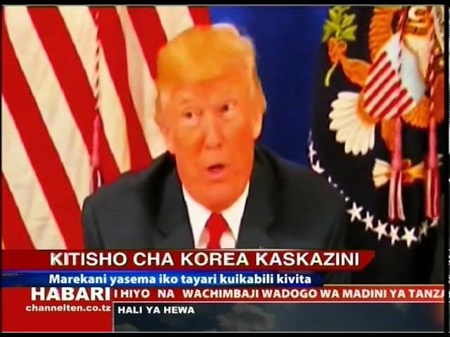 Habari za Kimataifa - 11.08.2017