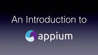 Appium - Introduction