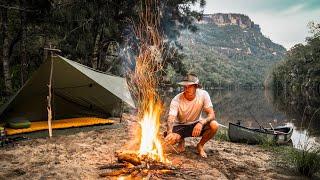 Solo Canoe Camp iฑ ANCIENT Australian Landscape