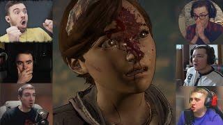 'Реакции Летсплейщиков' на Смерть Мари из The Walking Dead — A New Frontier