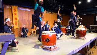 Taikobayashi played by Re Mi Taiko at Japan Impact 2014, Lausanne.