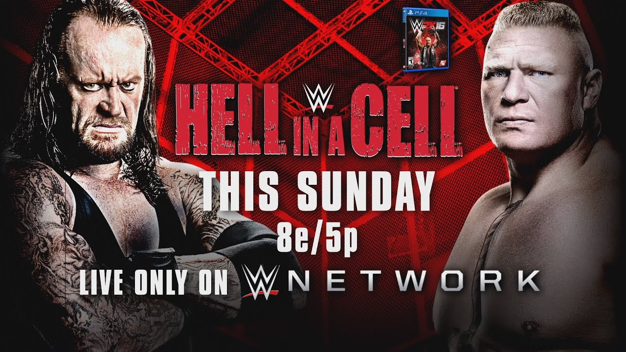 WWE Hell In A Cell 2015 Undertaker Vs Lesnar THIS SUNDAY