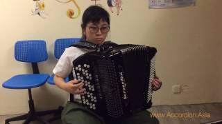 J.S.Bach Invention No. 8 in F Major - 香港手風琴音樂學院 Hong Kong Accordion School of Music (Asia)