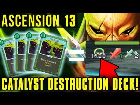 CATALYST DESTRUCTION DECK! - ASCENSION MODE 14