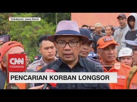 Ridwan Kamil Tinjau Langsung Lokasi Longsor di Sukabumi Mp3