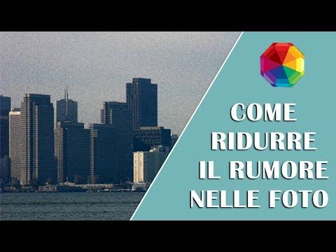 Riduzione Rumore Senza Photoshop - Eliminare Il Rumore Digitale In 1 Clic