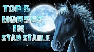 ТОП 5 лошадей в игре STAR STABLE   By RustyGame